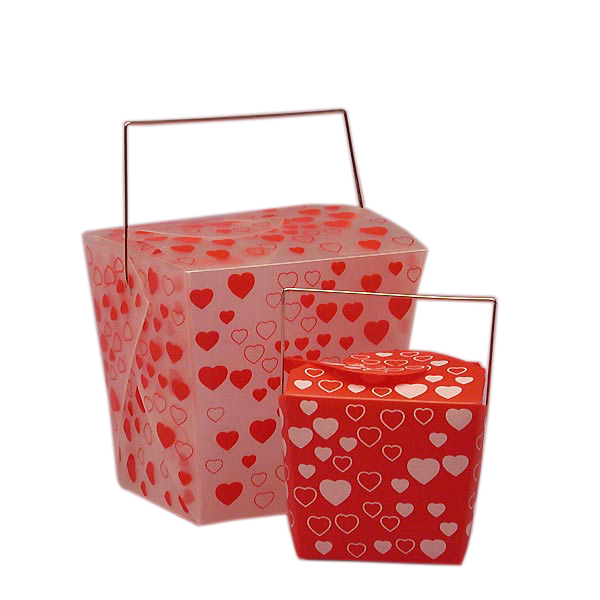 Heart Print Candy Boxes
