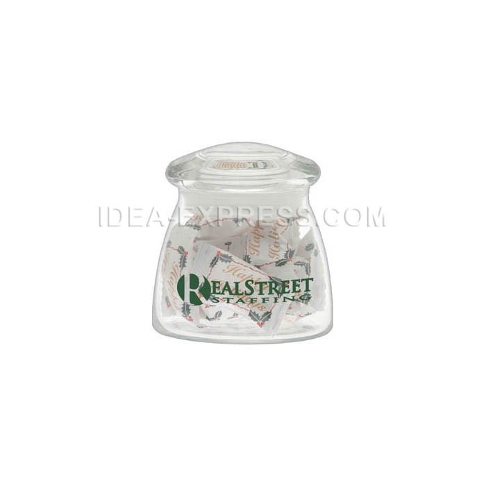 12.25 oz. Vibe Candy Jar with Arch Lid