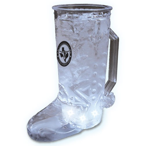 20oz 5-Lightup Cowboy Boot Mugs
