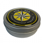 Metallic Candy Tins with Dome