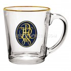 13.5 oz. Crystal Cafe Glass Coffee Mug