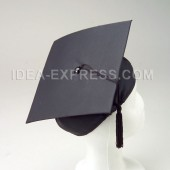 Black Cardboard Graduation Caps