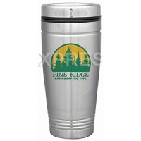 18 oz. Metallic Steel City Passport Tumbler