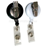 Blank Badge Reels with Alligator Clip