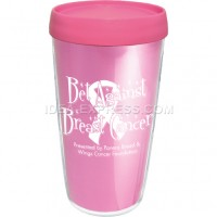 16oz Thermal Travel Tumbler with Foil Insert