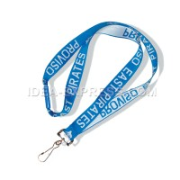 Woven Logo Embroidered Lanyards